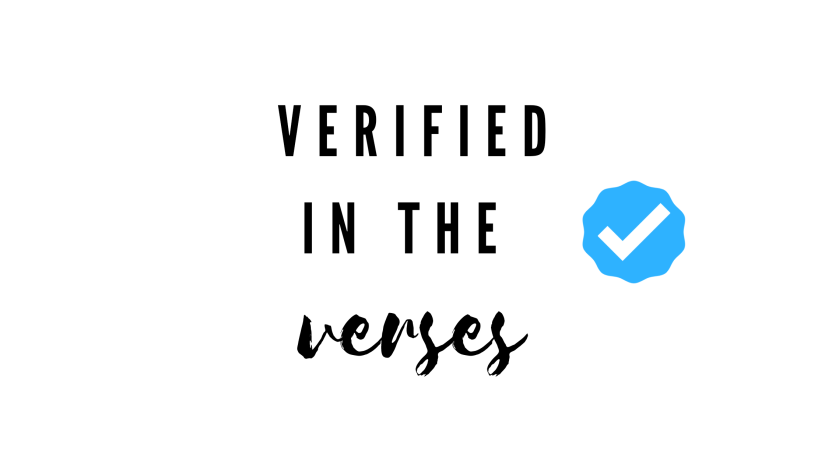 Verified in the Verses icon by salty but sweet