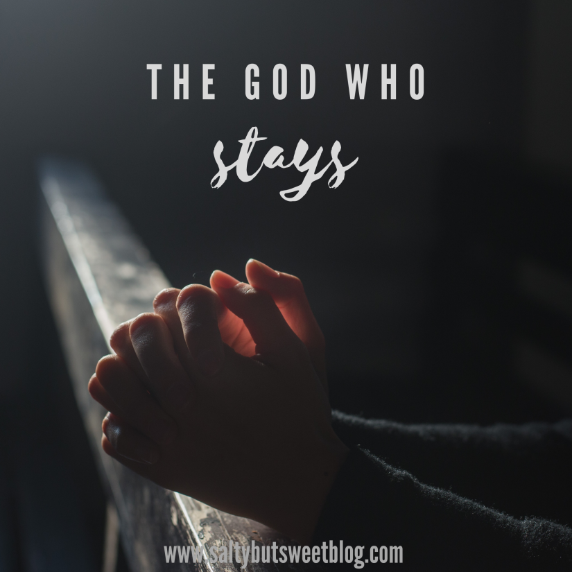 the god who stays