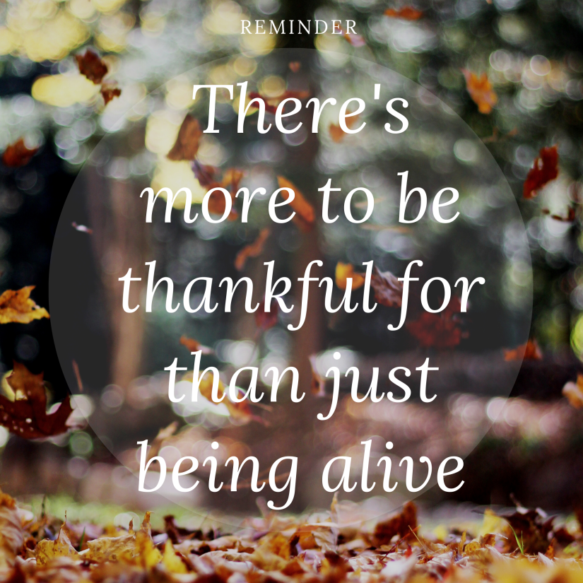more to be thankful for