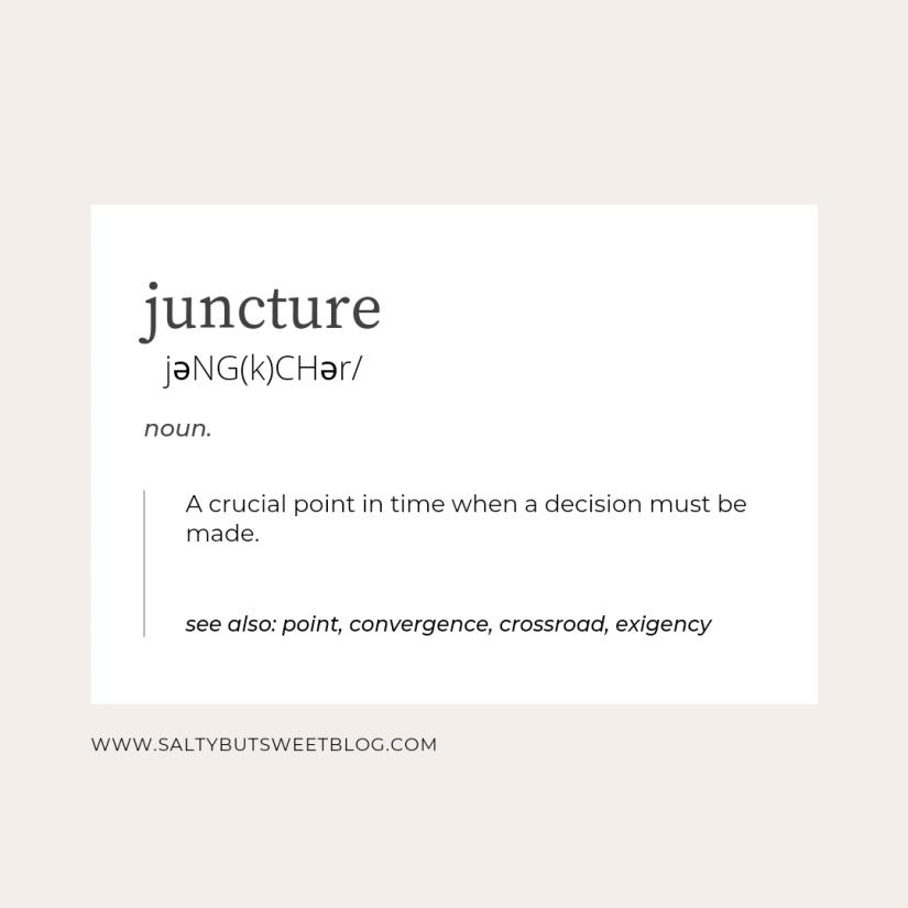 juncture definition